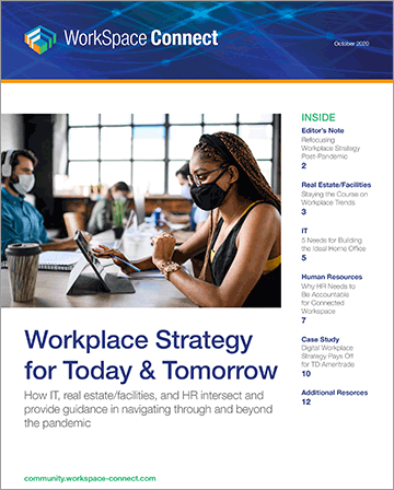 Workplace Strategy for Today & Tomorrow cover